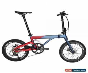 "Classic JAVA NEO Alloy Folding Bike 20"" 406 Urban Commuter Bicycle Velo V Brake 9 Speed for Sale"
