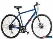 "Nashbar 17"" Flatbar Disc Road 700c Hybrid Commuter Bike Shimano 3 x 8 Speed NEW for Sale"