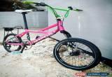 Classic Cannondale Hooligan 9 Lefty BMX mini velo Japanese Sakura Pink suit collectors for Sale
