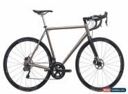 2017 No. 22 Great Divide Disc Road Bike 56cm Titanium Shimano Ultegra 11s Di2 for Sale