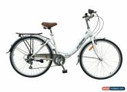 "Ecosmo 26"" Wheels Folding Ladies Women City Bicycle Bike 7 SP, 17"" -26ALF08W for Sale"