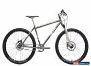 """2006 Moots Rigormootis Mountain Bike Medium 26"""" Titanium Chris King Single Speed for Sale"""