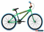 SE Bikes 2019 So Cal Flyer 24 Inch BMX 1spd Wheelie Bike Green/Blue/Orange for Sale