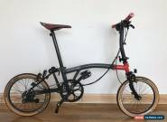 Brompton CHPT3 S6E-X Special Edition 2017 Titanium Bike WORLDWIDE POST for Sale