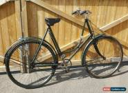 "VINTAGE 1932 BSA LADIES LOOP FRAME BICYCLE 28 ""WHEELS 24 INCH FRAME... RIDE AWAY for Sale"
