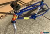 Classic 1983 Torker 280 BMX Bike Candy Blue, Og Undrilled Forks, Rare for Sale