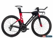 2018 Argon 18 E-119 TT Time Trial Bike Medium Carbon SRAM Red eTap Zipp 404 for Sale
