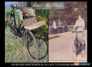 1929 Rudge-Whitworth Lady's Bicycle BY ROYAL APPOINTMENT Vintage Antique Bicycle for Sale
