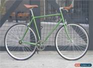 Hackney Club Vintage Single Speed bike Fixed Gear / fixie Road Bikes Green* for Sale