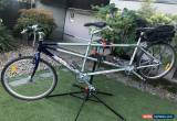 Classic Apollo Tandem bike, silver, excellent condition, lovingly looked after for Sale