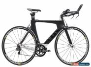 2016 Cervelo P3 Time Trial Bike 54cm Medium Carbon Shimano Ultegra Di2 Mavic for Sale