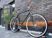 Hackney Club Vintage Single Speed freewheels bike Fixed Gear / fixie Road Bike for Sale