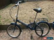 RALEIGH PARKWAY FOLDING BICYCLE WITH SHIMANO GEARS  for Sale