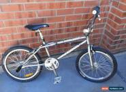 Mongoose Old Mid School BMX - HOOLIGAN Free Style CHROME for Sale