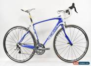 Specialized 2011 Roubaix SL3 Expert Carbon Bike Blue/White 54cm NEW OLD STOCK for Sale