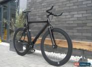 "NOLOGO ""X"" black new Single Speed freewheels bike Fixed Gear fixie Road Bikes1 for Sale"
