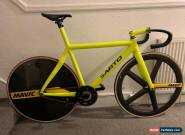 Sarto carbon track frame & stem for Sale