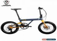 "JAVA NEO Carbon Folding Bike 20"" 406 Urban Commuter Velo Disc Brake 11 Speed for Sale"
