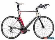 2011 Cannondale Slice 3 Time Trial Bike 60cm Carbon Shimano Ultegra Mavic for Sale