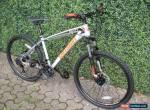 "MATT  GREY  21 SPEED  MTB MOUNTAIN BIKE BICYCLE 26"" WHEEL 16.5"" FRAME for Sale"