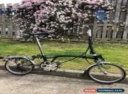 Brompton H6R-X Titanium Folding Bike for Sale
