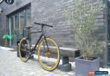 Classic NOLOGO BLACK GOLD Single Speed Freewheel Road Bike Flip Flop hub bicycles ALLOY for Sale