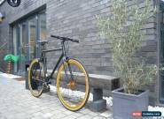 NOLOGO BLACK GOLD Single Speed Freewheel Road Bike Flip Flop hub bicycles ALLOY for Sale