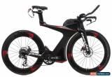 Classic 2017 Cervelo P5X Time Trial Bike Large Carbon Shimano Ultera Di2 ENVE Disc for Sale