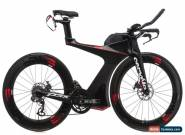 2017 Cervelo P5X Time Trial Bike Large Carbon Shimano Ultera Di2 ENVE Disc for Sale