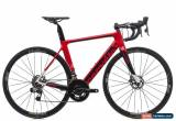 Classic 2018 Cervelo S3 Disc Road Bike 54cm Medium Carbon SRAM Red eTap Zipp Vision for Sale
