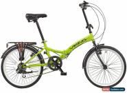 "2018 Viking Metropolis 20"" Wheel 6 Speed Folding Bike Green for Sale"