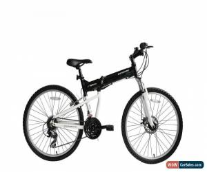 "Classic Ecosmo 26"" Wheel Lightweight Alloy Folding MTB Bicycle Bike 17.5""- 26AF18BL for Sale"