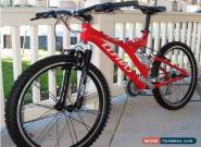 "Cephas T6 Fever 7.7 Full Suspension 26"" Mtn Bike. Retails $299 for Sale"