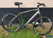 Carrera Crossfire 2 Hybrid Bike 24 spd Suntour Forks Disc Brakes Axis deep rims for Sale