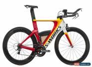 2014 Specialized S-Works Shiv Triathlon Bike Medium Carbon Shimano Dura-Ace 7900 for Sale