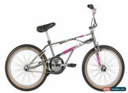Haro 2019 Lineage Bashguard Team Master 20.5 Old Mid School BMX Bike Chrome for Sale