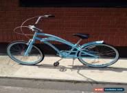 Vintage Blue Retro girl's bike with White Tyres for Sale