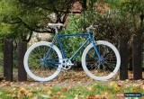 Classic  BLUE TEMAN Brand new Single Speed Freewheel Road Bike Flip Flop hub bicycles for Sale