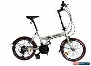 "ECOSMO 20"" Brand New Folding City Bicycle Bike 21SP SHIMANO - 20F03W for Sale"
