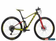 2017 Scott Spark RC 900 World Cup Mountain Bike Medium Carbon SRAM XX1 Eagle for Sale