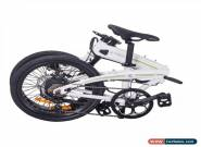Bicicleta Electrica Plegable 250W 25Km/h 20kg 50km e-bike Shimano BLANCO for Sale