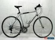 "Fuji Sagres Hybrid Bike X Large 21.5"" 700c City Bicycle Commuter V-brake Charity for Sale"