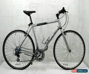 "Classic Fuji Sagres Hybrid Bike X Large 21.5"" 700c City Bicycle Commuter V-brake Charity for Sale"