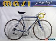 Vintage 1978 MASI PRESTIGE SERVIZIO CORSE 52-53 cm BIKE Campagnolo Columbus for Sale