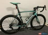 Bianchi Oltre XR2 Road bike, Campagnolo Super Record EPS, Celeste, Mavic wheels for Sale