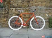 ORANGE TEMAN Brand new Single Speed Freewheel Road Bike Flip Flop hub bicycles for Sale