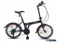 "ECOSMO 20"" Brand New Folding City Bicycle Bike 21SP SHIMANO - 20F03BL for Sale"