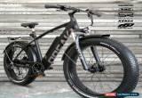 Classic NEW!! FATBIKE 28MPH OPEAK EBike Electric Bike BLACK 9 Speed Bicycle e-bike 750Ww for Sale