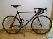 "COLNAGO C40 1.gen Lampre colour 90"" Size 55cm steel fork Dura Ace 7410 for Sale"