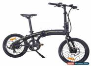 Bicicleta Electrica Plegable 250W 25Km/h 20kg 50km e-bike Shimano NEGRO for Sale